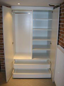 Beépített szekrények